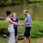 Laura and Alistair married by Cairns Marriage Celebrant Janine Meakin