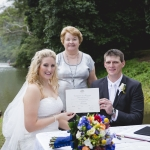 Carlie and Brock married by Cairns Wedding Celebrant Janine Meakin