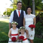 Mel and Che married by Cairns Marriage Celebrant Janine Meakin