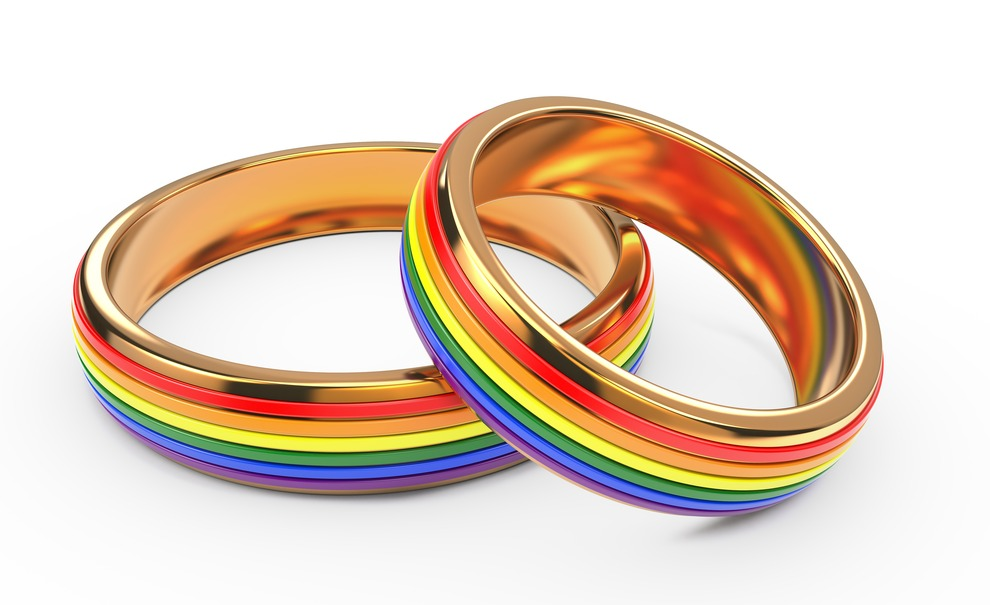 A FAQ is if I am a supporter of marriage equality and the rainbow rings are used to express that yes I am